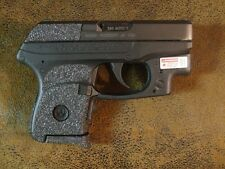 Black Textured Rubber Grip Enhancements for Ruger LCP 380                  wctcl