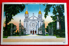 St. Boniface Cathedral St. Boniface Manitoba 1960 Canada t3c