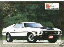 1971 Mustang Boss 351 *Original 1987 Article* Musclecar