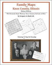 Family Maps Knox County Illinois Genealogy Plat History