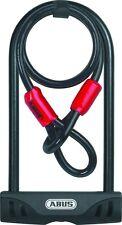 ABUS Facilo U-Lock and ABUS Cobra Security Cable Bike Lock Combo