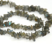 Strand brillant labradorite perles chips, 5 mm, gemstone chip