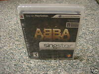 SingStar ABBA (Playstation 3) NEW GAME ONLY