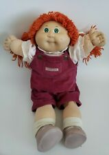 Cabbage Patch Kid Doll 1978 1982 Xavier Roberts Rare Coleco Red Hair Green Eyes