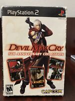 Devil May Cry 5th Anniversary Collection (PlayStation 2 PS2, 2006) COMPLETE TEST