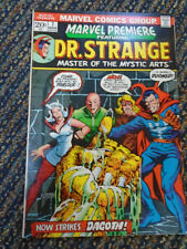 "Marvel Premiere #7 ""Now Strikes Dagoth!"" Dr Strange Classic!! Solid Sharp"