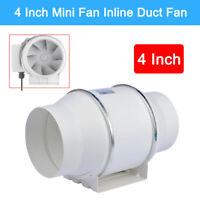1 PCS Portable 4 Inch Mini Fan Inline Ceiling Ventilation Pipe Extractor Fan