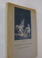 Bibliography Reference Don Quixote Talfourd P. Linn Collection Cervantes 1963