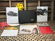 2017 Audi A6 Owners Manual Navigation Bk New Oem Mint Set
