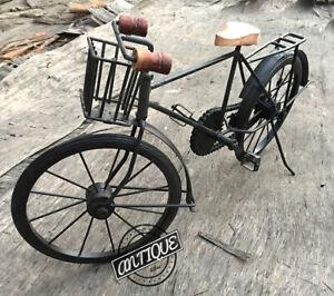 Vintage Rural Fahrrad Rikscha Antik Art Tisch Dekor Heim / Studio Tisch Hängen