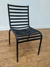 Job Lot 14 Midnight Blue Aluminium Stacking Outdoor Patio Side Chairs