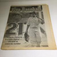 NY Daily News: Sept 18 2005 Viva Baseball 21 Roberto Clemente Latin Legend