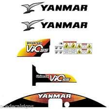 Yanmar VIO55-5 Decals Stickers Kit Set Mini Excavator