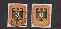"1956 Germany BERLIN COMPLETE SET ""Arms of Berlin""  Sc#9N118-9  Mint/Used"