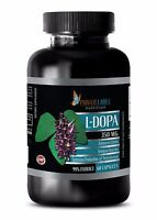 L-DOPA 99% Extract Powder 350mg Mucuna Pruriens - Anti-Aging - 60 Capsules 1 Bot