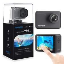 AKASO V50 Pro Native 4K/30fps 20MP WiFi Action Camera w/ EIS LCD Touch Screen UK