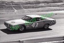 1975 NASCAR racing Photo negative Riverside Int Raceway Richard Petty Dodge