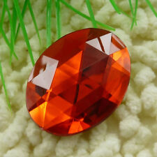 20pcs red acrylic Flatback Rhinestone Faceted oval Gems 40x30mm ZH213