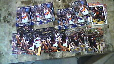 Michael Finley All 1995 Rc 17 Flair + 12 Metal + 5 Gallery + 36 Badgers Suns