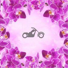 Motorrad Chopper -2; Airbrush klebe Schablonen Nailart Tribal Biker Sommer