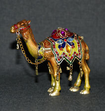*Mumonkan Russian Trinket Box CAMEL Faberge Tradition Jewelry