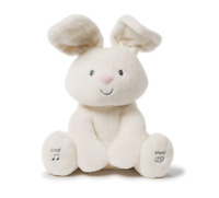 GUND Baby Flora The Bunny Peek-a-Boo Animated Plush Toy - Free Shipping