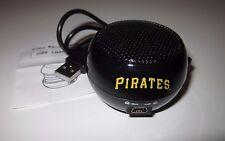 PITTSBURGH PIRATES Portable MINI SPEAKER (USB) - SGA *NEW* 5/22/16