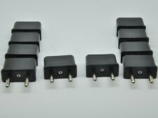 10 Pieces USA US To Europe EU Euro Travel Charger Power Plug Adapter Converter