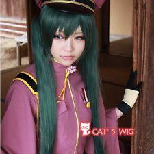 VOCALOID Hatsune MIKU dark green cosplay wig UK