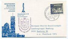1964 Deutschen Musuem Munchen Versuchsreihe Tr10 Geflogen Rakete Hannover SPACE