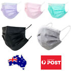 3 layer Disposable Face Mask Masks Pink Purple Black Green Cartoon Print Fashion