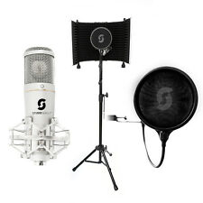 HOME RECORDING - SL150 USB Mikrofon, Gesang Booth, Pop Filter, Kabel Reflexion