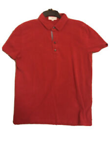 Mens Red Express Stretch Shirt Shortsleave
