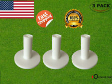 3pack Rubber Tees for Golf Driving Range Practice Mats Different Size 60 70 80mm