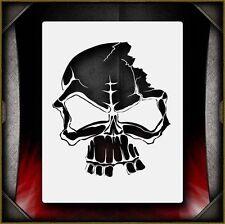 """Skull 6"" Airbrush Stencil Template Airsick"