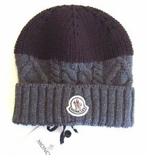 J-799975 New Moncler Cable Knit Stocking Ski Hat