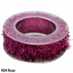 2m Metallic Foil Tinsel Garland Ribbon Wire Home Christmas Decor Party Supplies