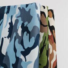 1Yard*147cm Camo Pattern Cotton Material Fabrics Camouflage Poplin