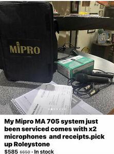 Mipro MA 705 Portable PA System