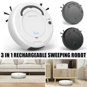 Smart Automatic Robotic Vacuum Cleaner Robot Sweeper Machine Edge Rechargeable