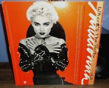MADONNA WHERE'S THE PARTY & SPOTLIGHT 12 INCH PROMO RECORD YOU CAN DANCE