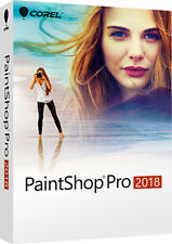 NEW Corel Paintshop Pro 2018 Photo Editing Graphics Design PC