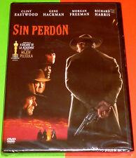 SIN PERDON  / UNFORGIVEN English Deutsch Español -DVD R2- Precintada