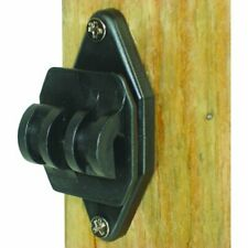 100 Pack Wood Post Nail On Insulator For Hi Tensile Strong Claw Design Black
