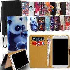 Leather Smart Stand Wallet Cover Case For Various Micromax Mobile phones