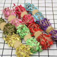 5M Colorful Artificial Leaves Weaving Rope Home Wedding Decoration Gift Packing