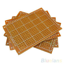 FT- 10pcs Solder Finished Prototype PCB For 5x7cm Circuit Board Breadboard DIY G