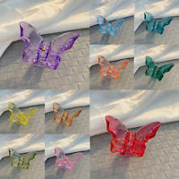 Butterfly Hair Claw For Women Acrylic Hair Accessories Hair Claw Clip Crab Clamp