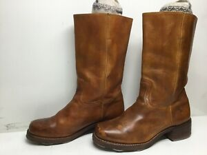 VTG MENS FRYE RIDING BROWN BOOTS SIZE 10 M