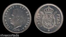 Juan Carlos 1º. 50 Pesetas. 1975*80.